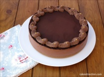 Tarta de Queso y Chocolate 10